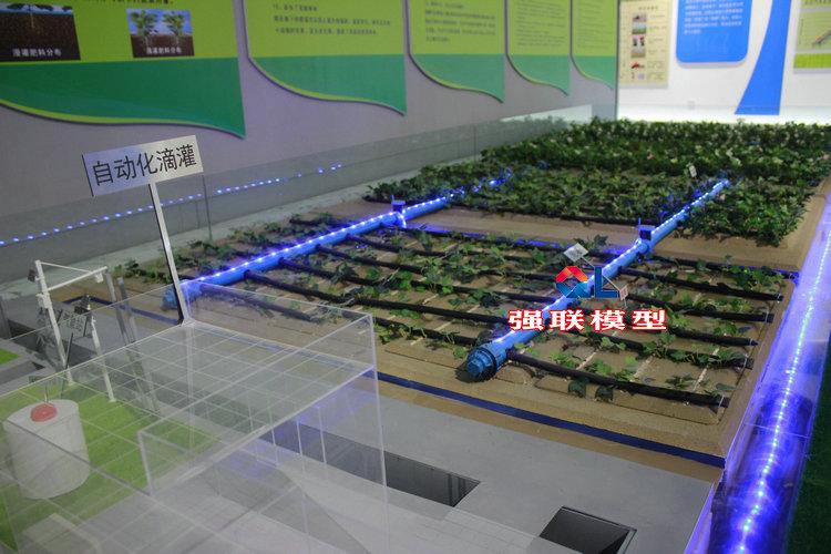 建筑物综合沙盘模型 渠系建筑模型 农业灌溉水利沙盘模型