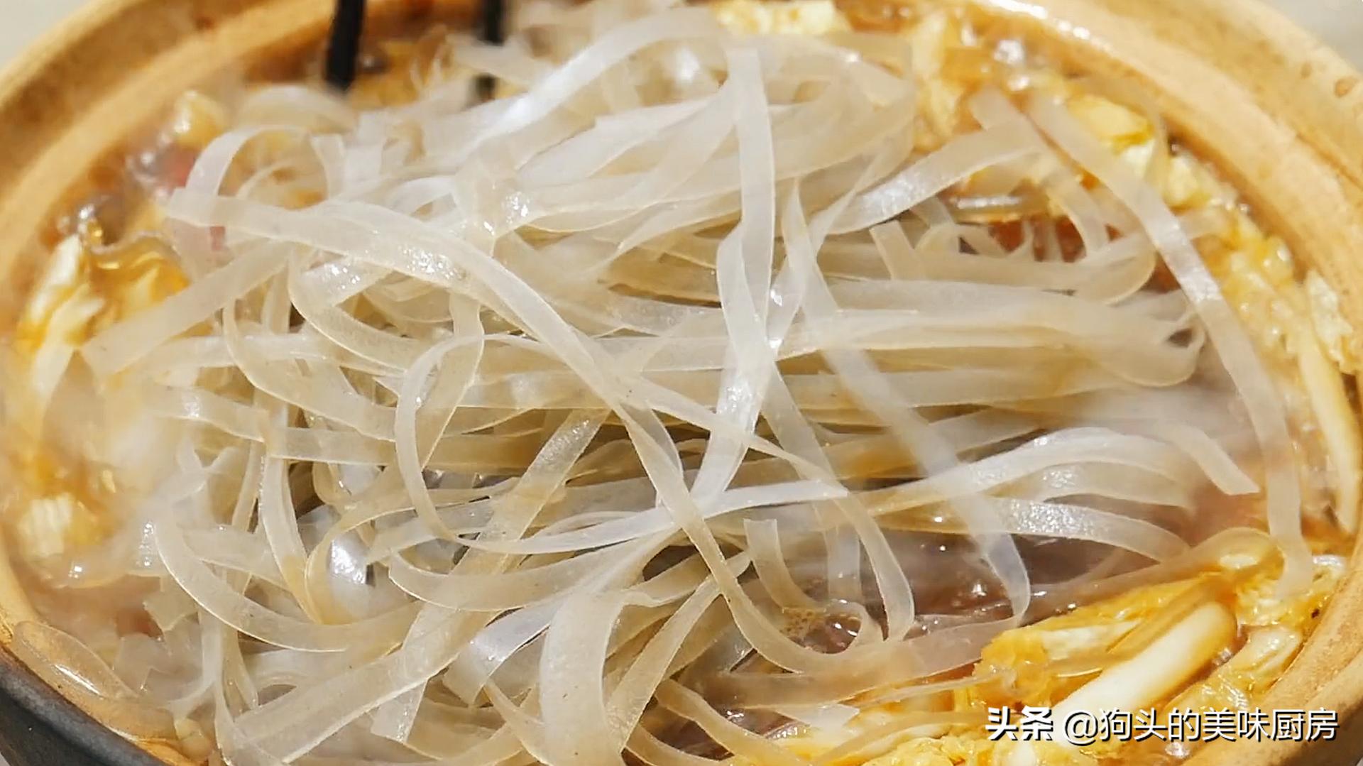 白菜炖粉条怎么做才好吃?教你一个诀窍,鲜香味美,好吃又解馋 美食做法 第11张
