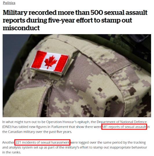 环球深观察丨加拿大人权丑闻集中曝光:原住民惨遭迫害 军队里性侵成风