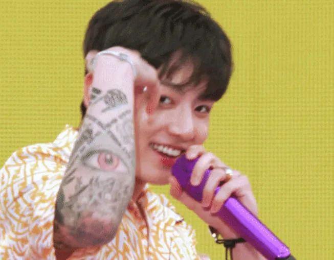 柾国和GOT7成员的友情纹身?;美延-Sana原来是这样认识的?