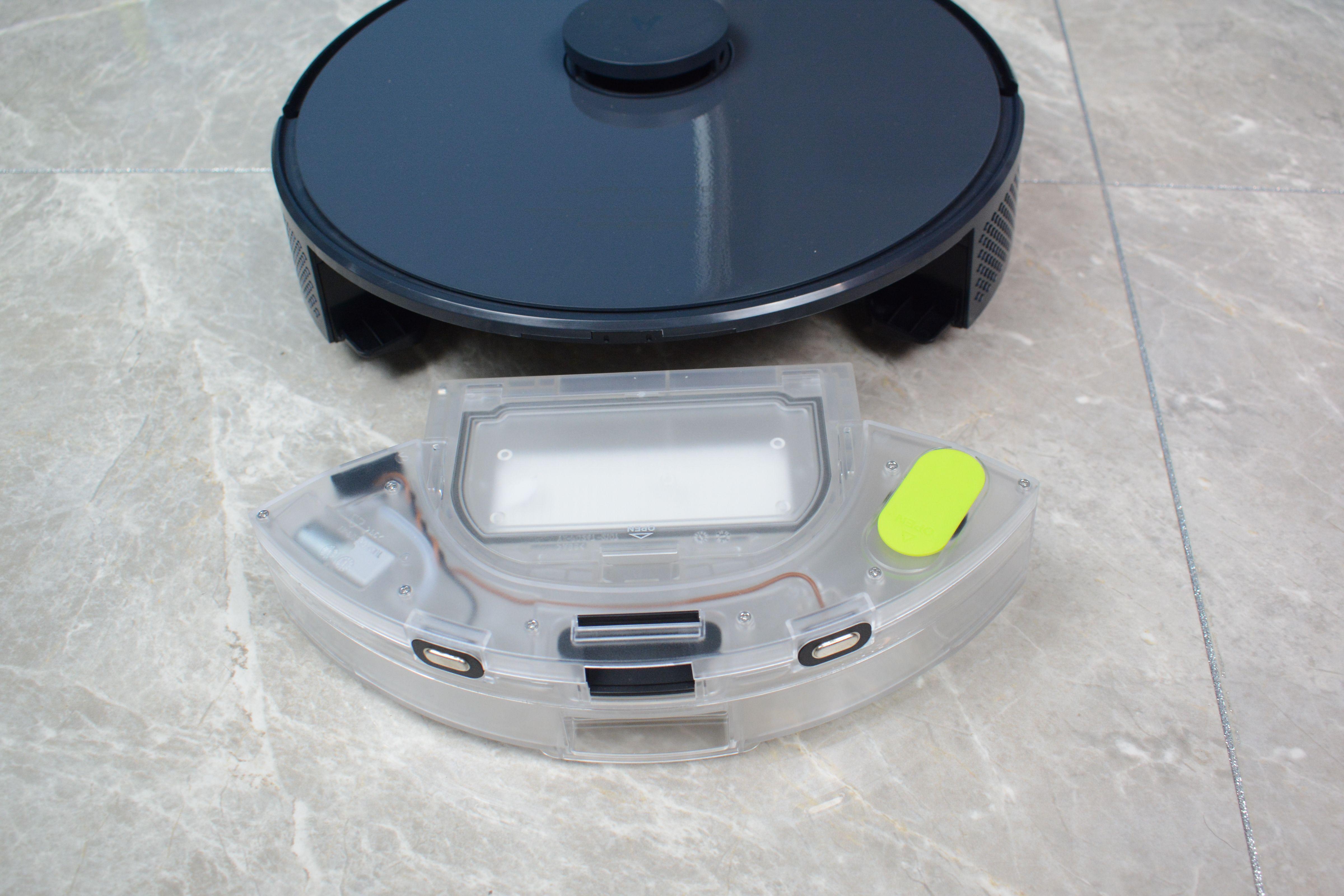 云米扫拖机器人 Alpha Lite,扫拖一体,自动集尘,省心省力