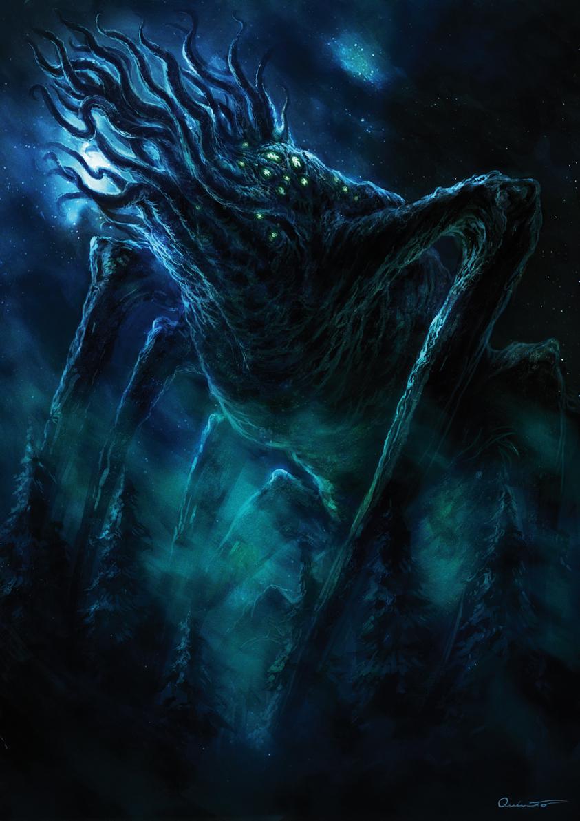 克苏鲁神话生物:图姆哈人