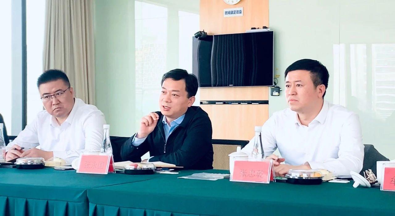 青岛市市北区区委副书记、区长张永国一行来访力维智联