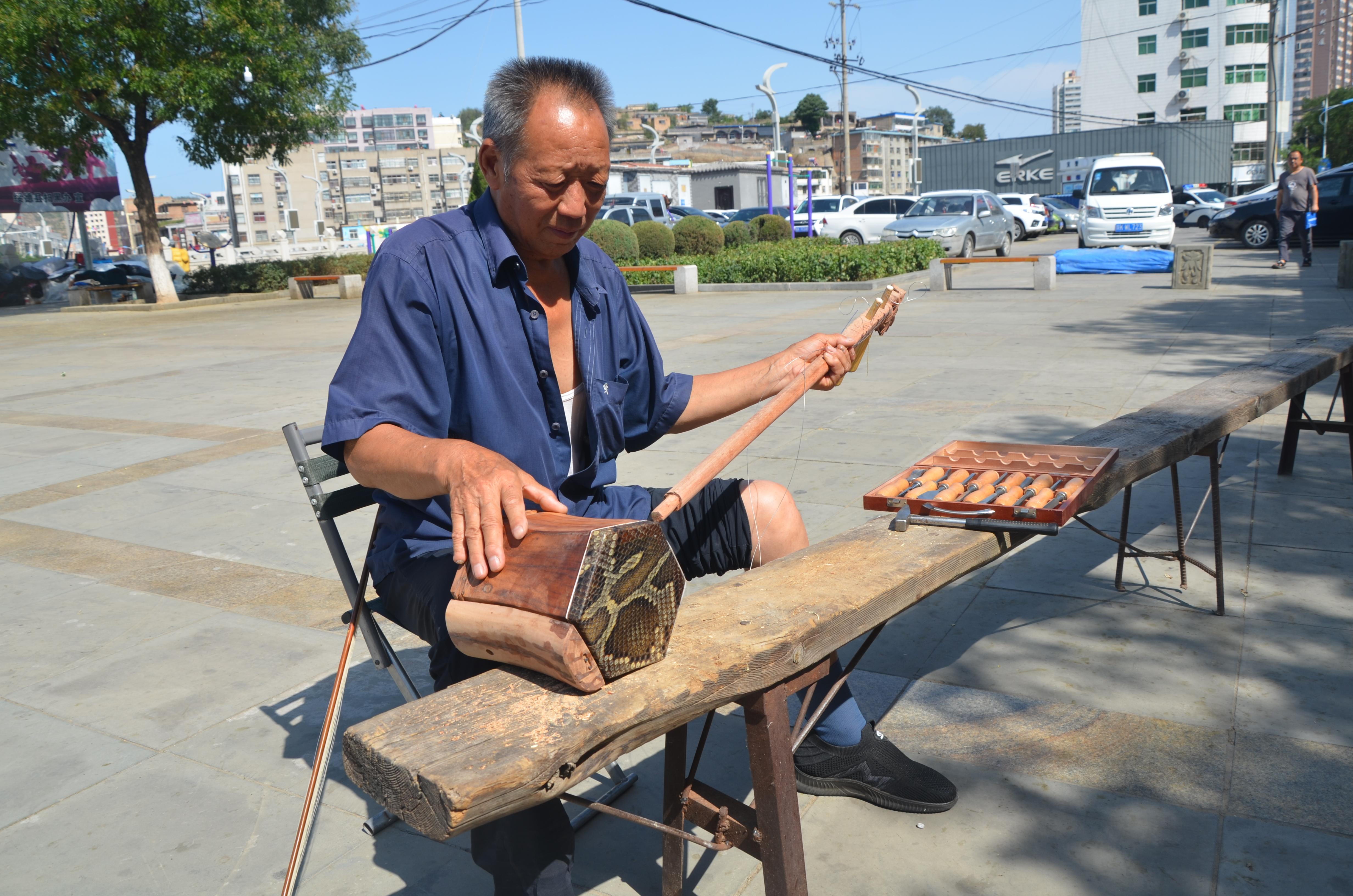 """陕北传统乐器制作口述:做""""手艺人"""",更要做""""守艺人"""""""