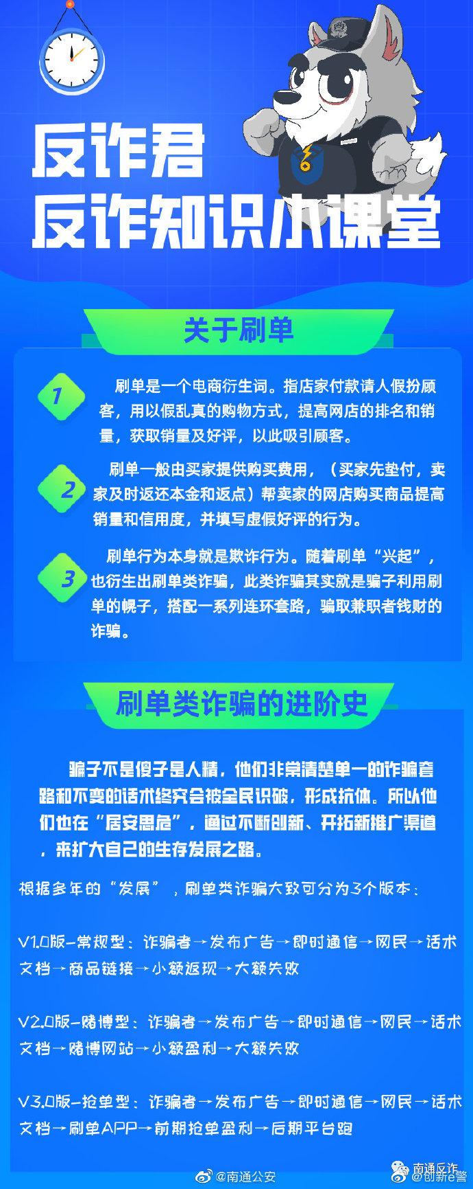 """痴恋""""刷单"""",6天2次中招被骗16万 安全防骗 第1张"""