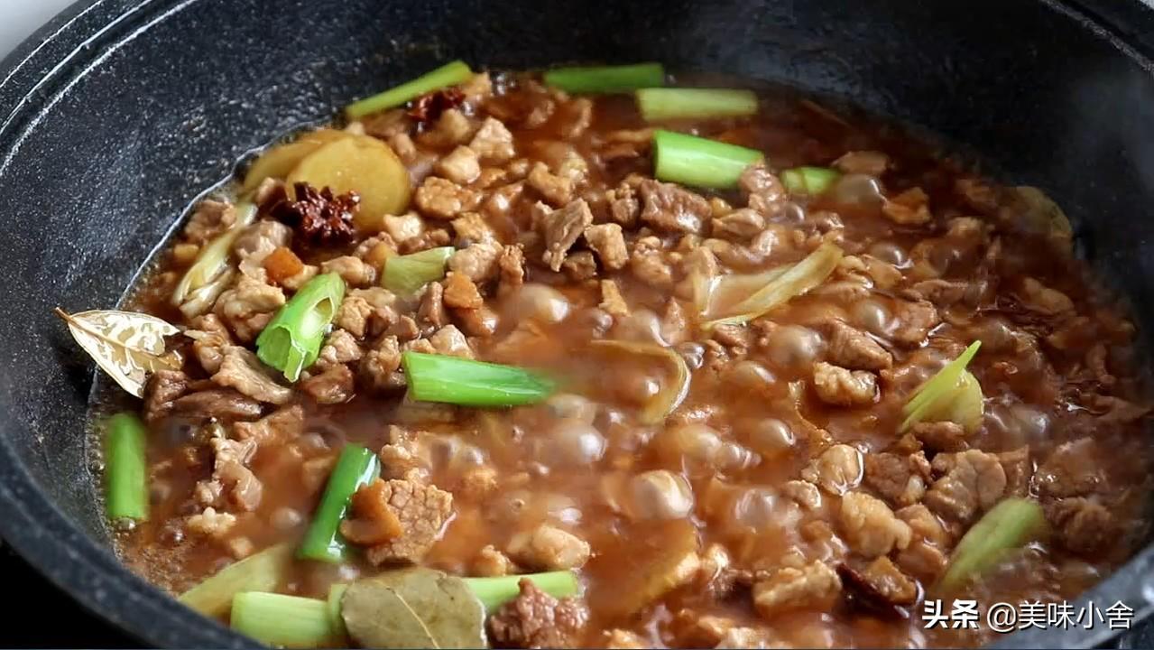 陕西的特色猪肉臊子,肉香酥烂,回味无穷,太香了 各地小吃 第5张