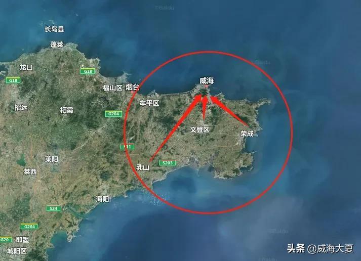 威海各区常住人口公布,乳山流失最严重
