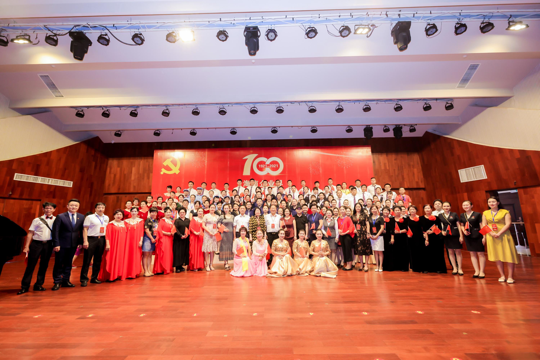 海南企业界庆祝中国共产党成立100周年歌咏比赛举行