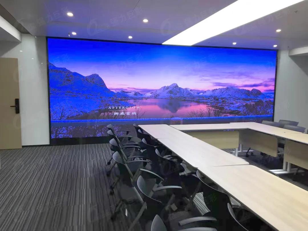 彰顯品牌實力!LED大顯示已成企業運營硬件標配