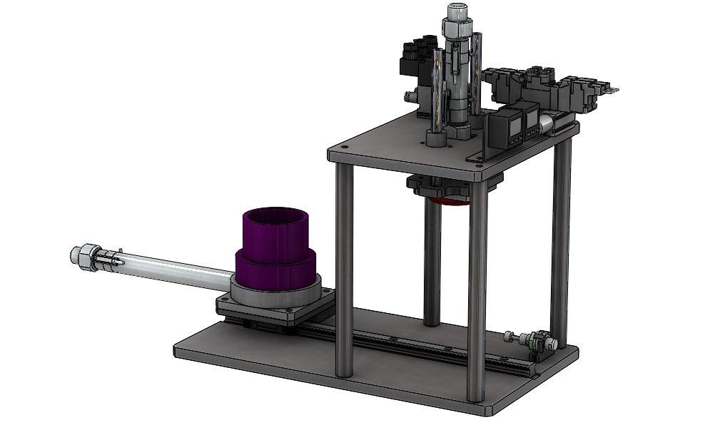 夹具过滤测试机构3D图纸 STEP格式