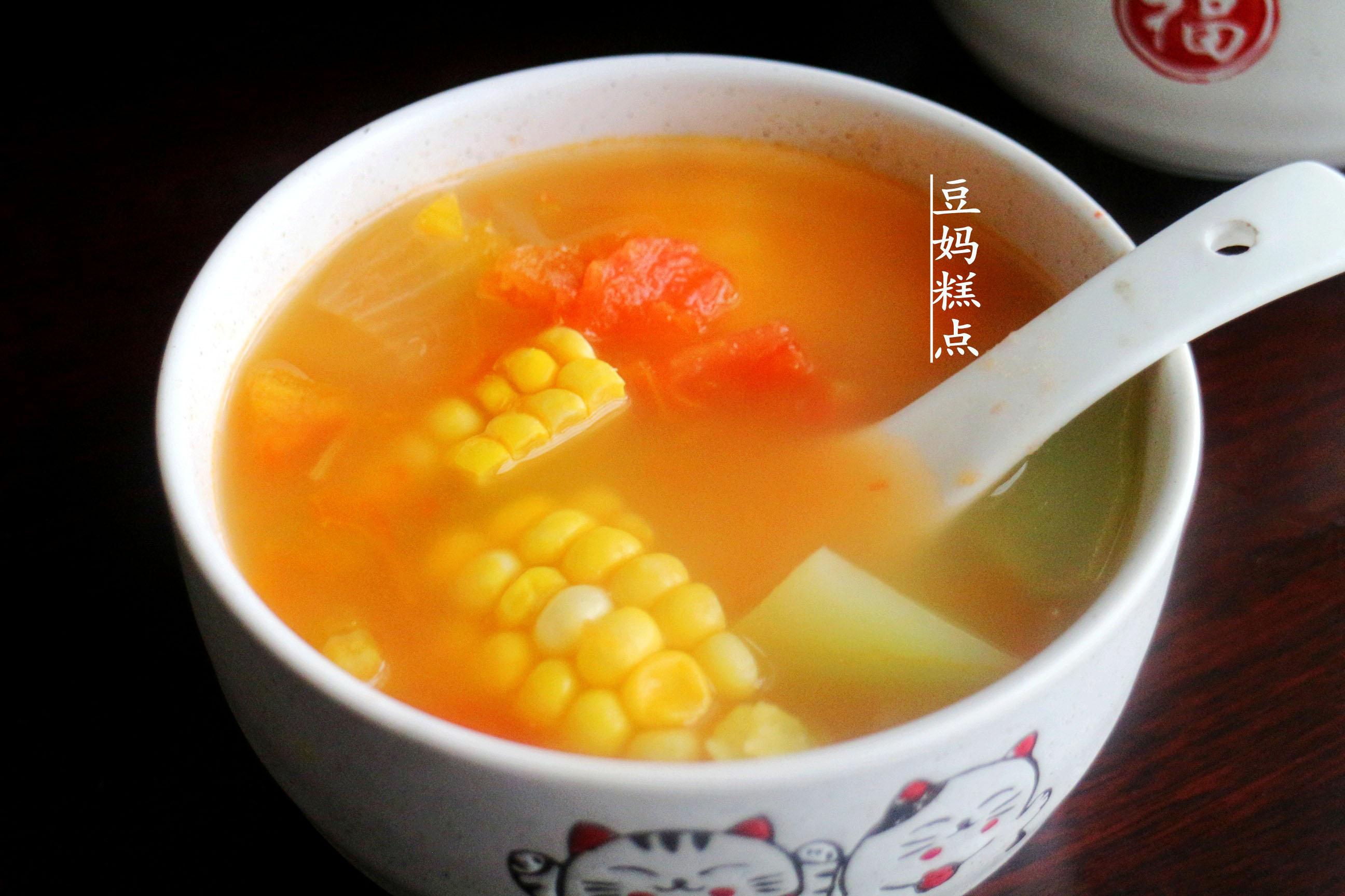 学做瘦身蔬菜汤,健康瘦身,营养不缺 减肥菜谱 第10张
