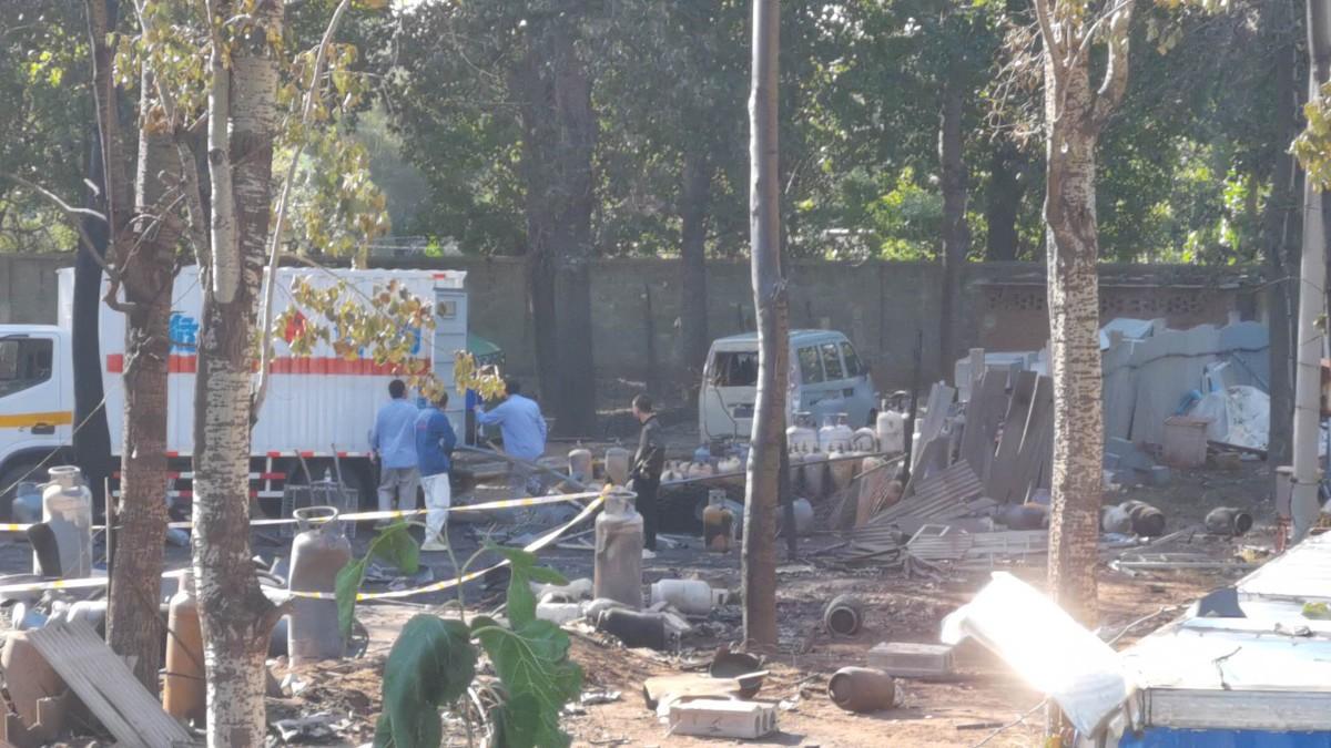 通州一出租院落发生燃气爆燃事故,无人伤亡