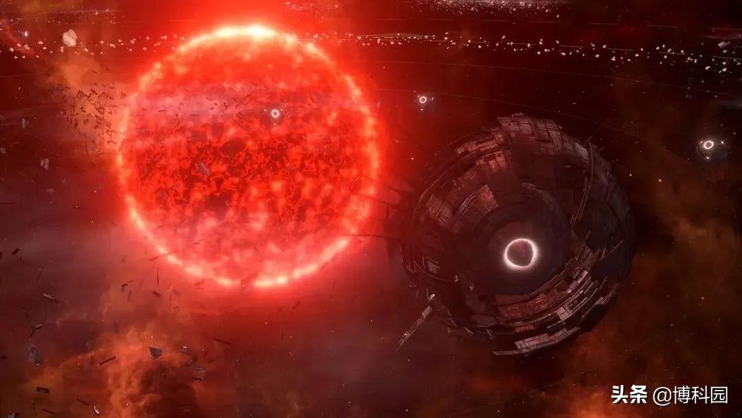 一个字:大!首次拍出红超巨星心宿二,迄今为止最详细的大气图