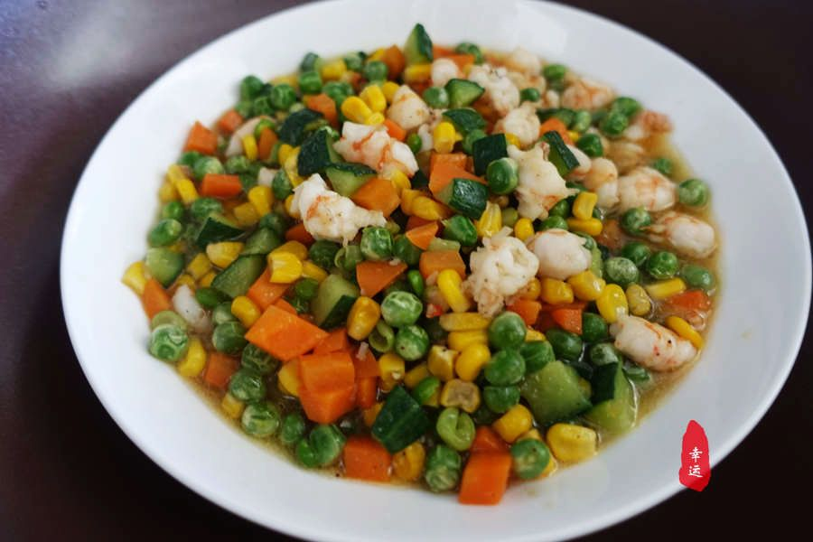 虾仁炒什么好吃,多种菜蔬炒虾仁好吃又清淡