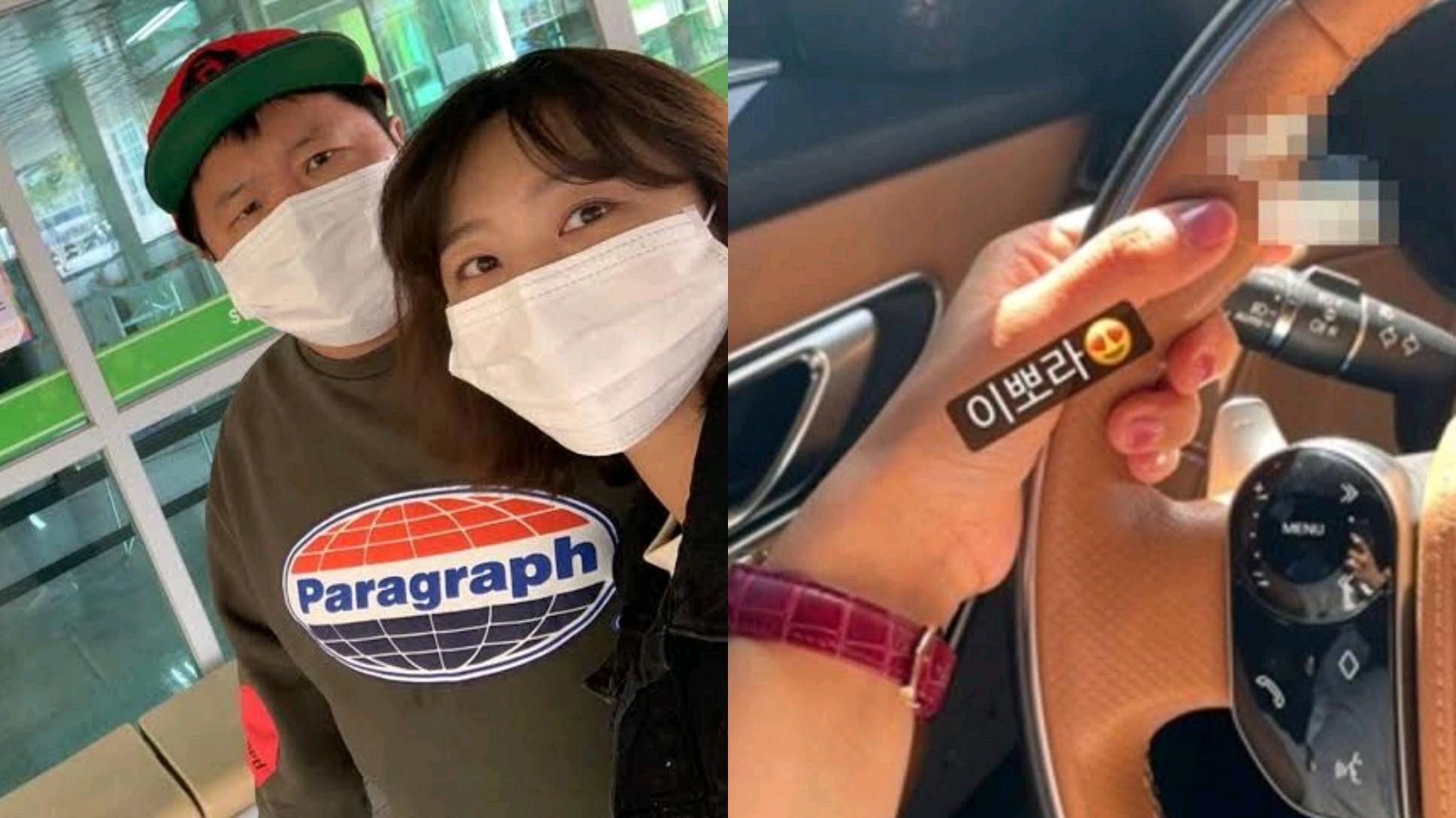 郑亨敦妻子ins突然炫富,开1亿进口车吃美食被超千韩国网友表态