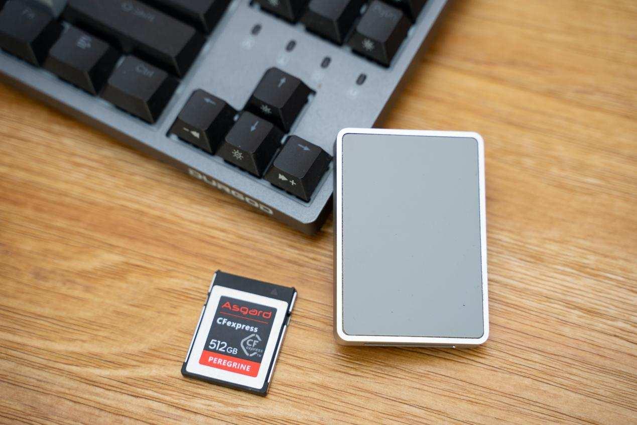 与高速SD卡同价,阿斯加特CFexpress存储卡到底如何?