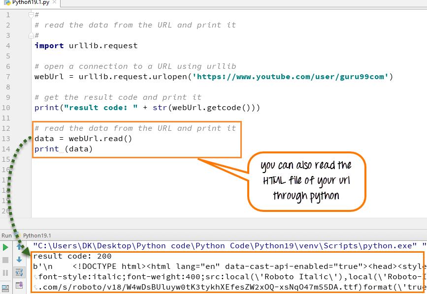 DAY6-step10Python互联网访问Urllib.Request和urlopen()