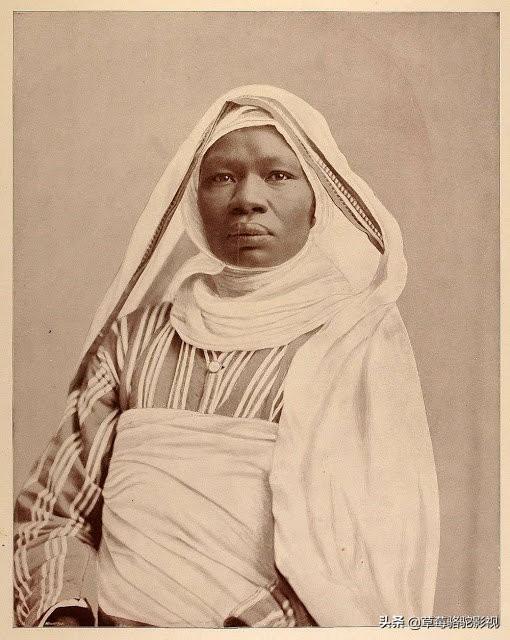 珍贵照片:1893年芝加哥世界博览会,世界各地传统服装