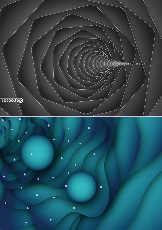 设计构图有捷径!几何形构图法