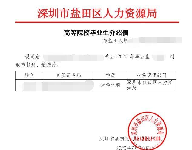 深圳办理准迁证需要什么材料(人才引进应届生深圳准迁证办理流程)