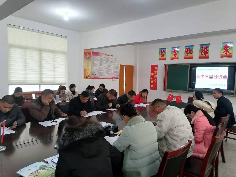 江苏省灌南县李集镇中心小学召开期中考试成绩