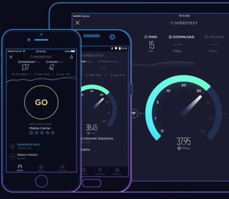 测速软件测试的网速真的准确吗?