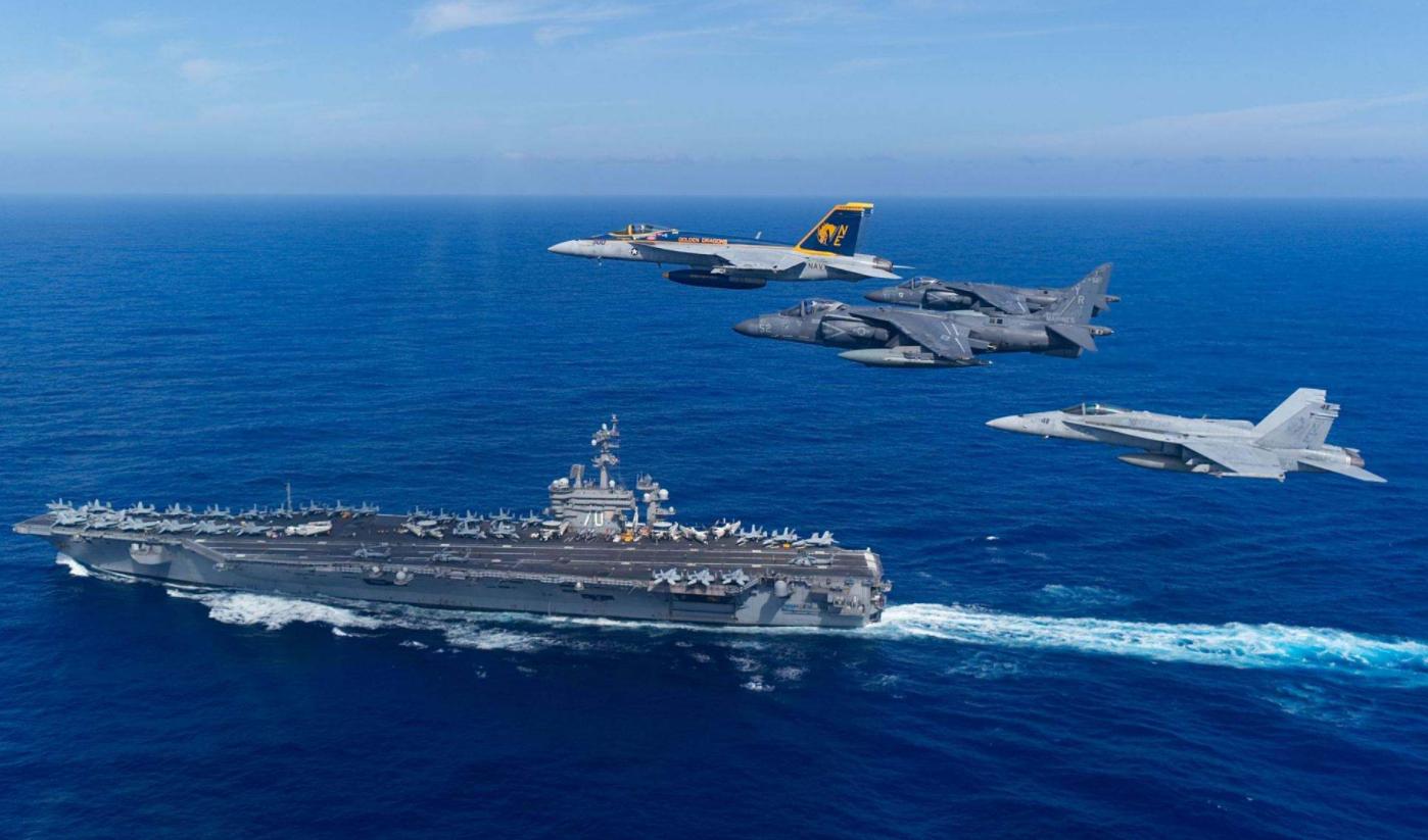 美軍航母突然全部撤離,專家:必須提高警惕