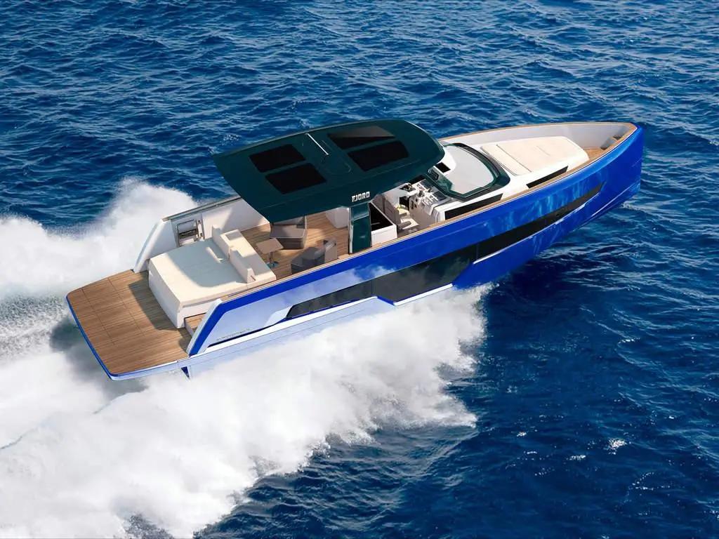 90种布局设计方案,近13米的FJORD 41XL动力巡航艇