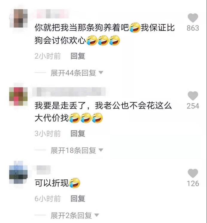 女子丢狗悬赏北京一套房,网友连夜找狗,物业泼冷水:两限房