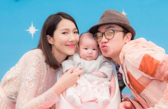 有種遺傳叫王祖藍女兒,避開爸爸基因繼承媽媽美貌,網友:放心了