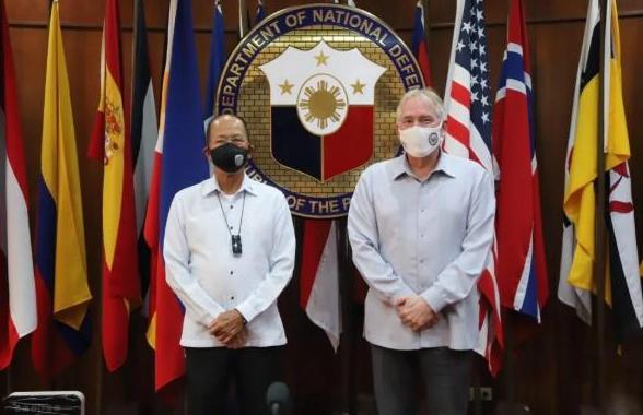 在日本后菲律宾亮明态度,菲防长:若中美南海现冲突将不得不参战