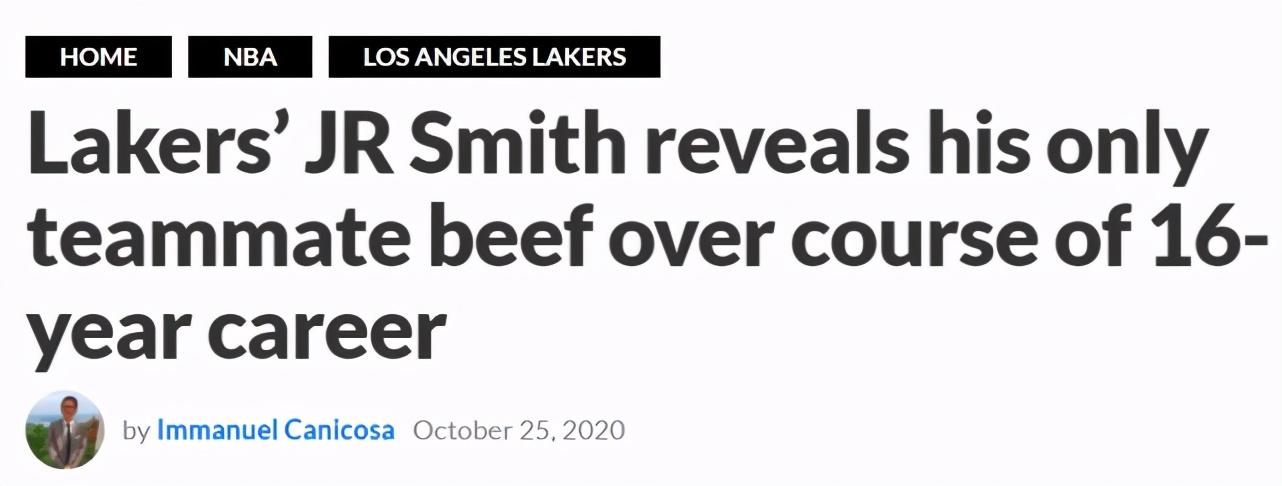16年生涯只討厭過一人!JR矛頭直指騎士前隊友:我對他毫無敬意!-黑特籃球-NBA新聞影音圖片分享社區