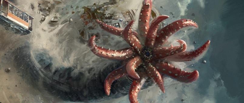 克苏鲁神话生物——钻地魔虫