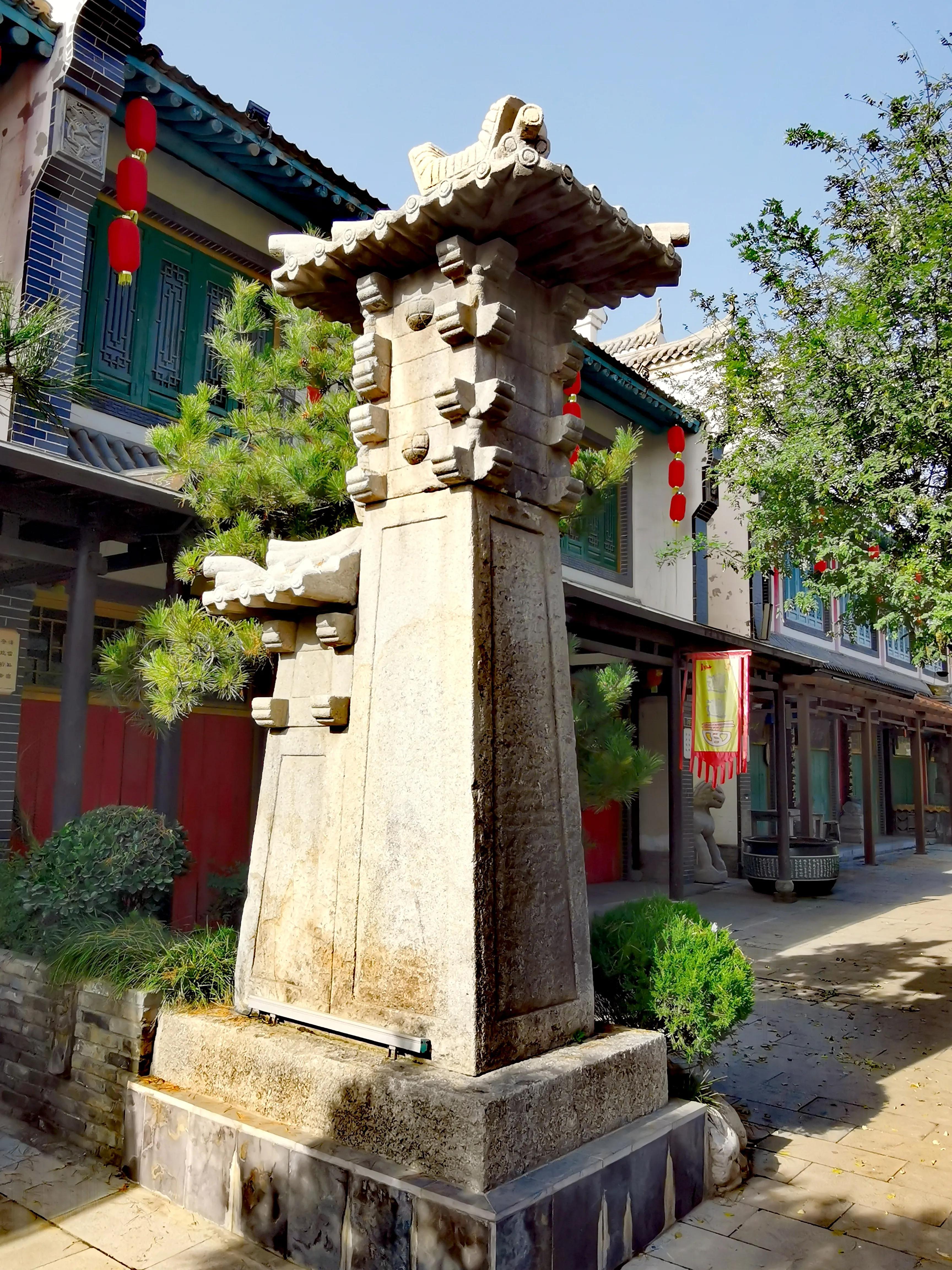 陕西渭南蒲城重泉古城之古城风貌