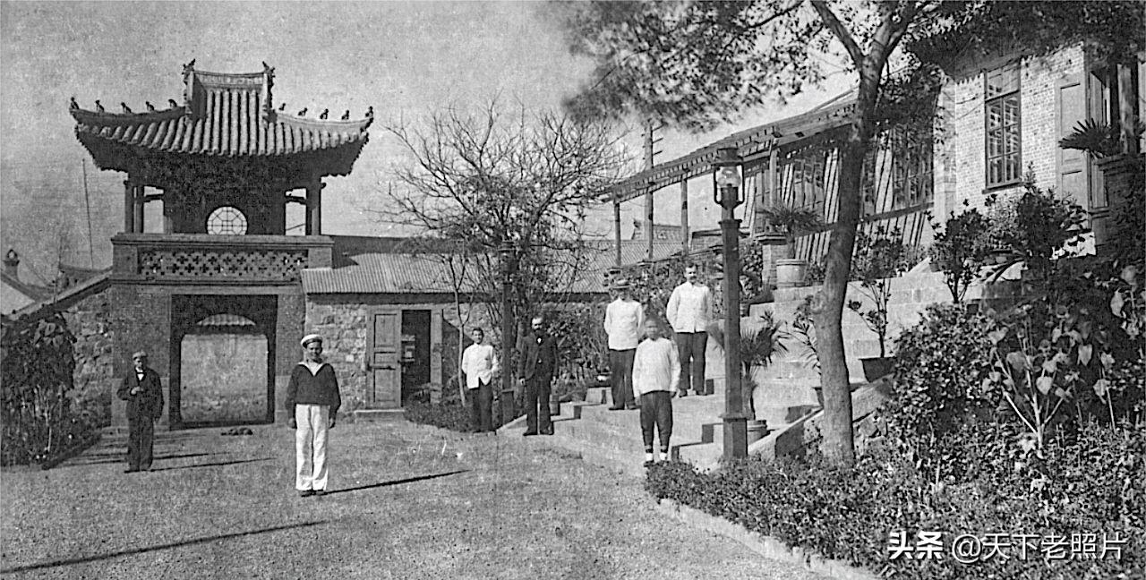 清末大连旅顺口老照片18幅 120年前的旅顺街景及名建筑