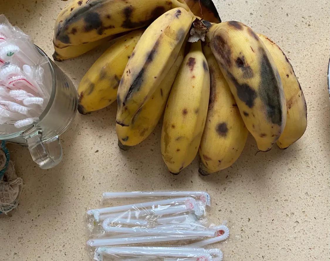 香蕉新吃法:香蕉冰棍,让这个夏天不再炎热!(建议收藏) 美食做法 第1张