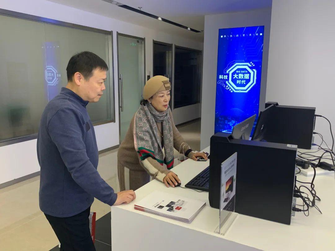 协会动态 | 上海金盾相关负责人参观信创中心