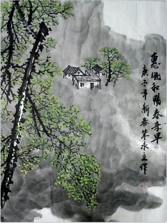 朱永立书画作品欣赏