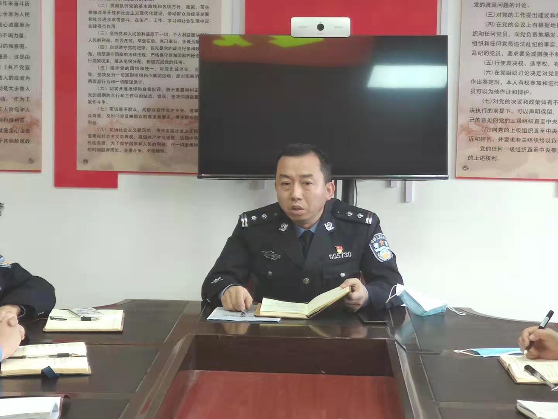 华阴公安:玉泉派出所召开春节后收心会暨工作部署会
