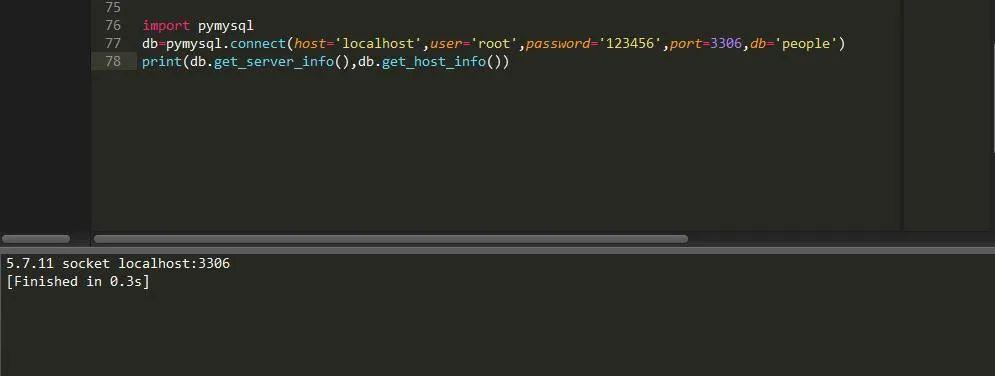 Python也能操作My<a href='/map/sqlshujuku/' style='color:#000;font-size:14px;'>sql数据库</a>