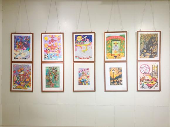 第八届重庆市青少年书·画·影大赛优秀作品展开幕