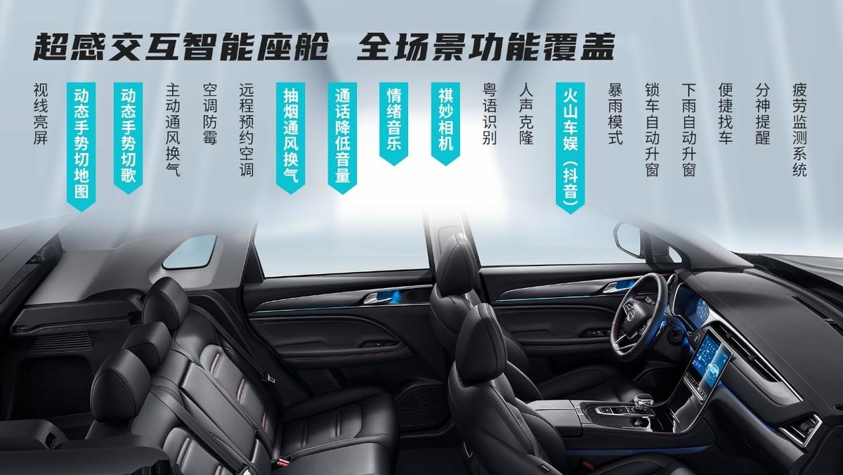 传祺GS4 PLUS 上市12.68万元起售,超高性价比打造同级最强PLUS