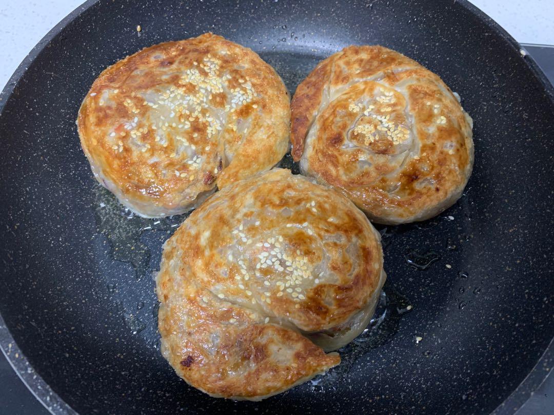 早餐餅最簡單的做法,不揉麵,不發麵,10分鐘搞定,簡單美味