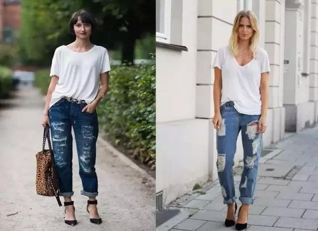 建议皮肤黑的女性:夏天不要穿白t恤,学姚晨这样穿,肤白又貌美