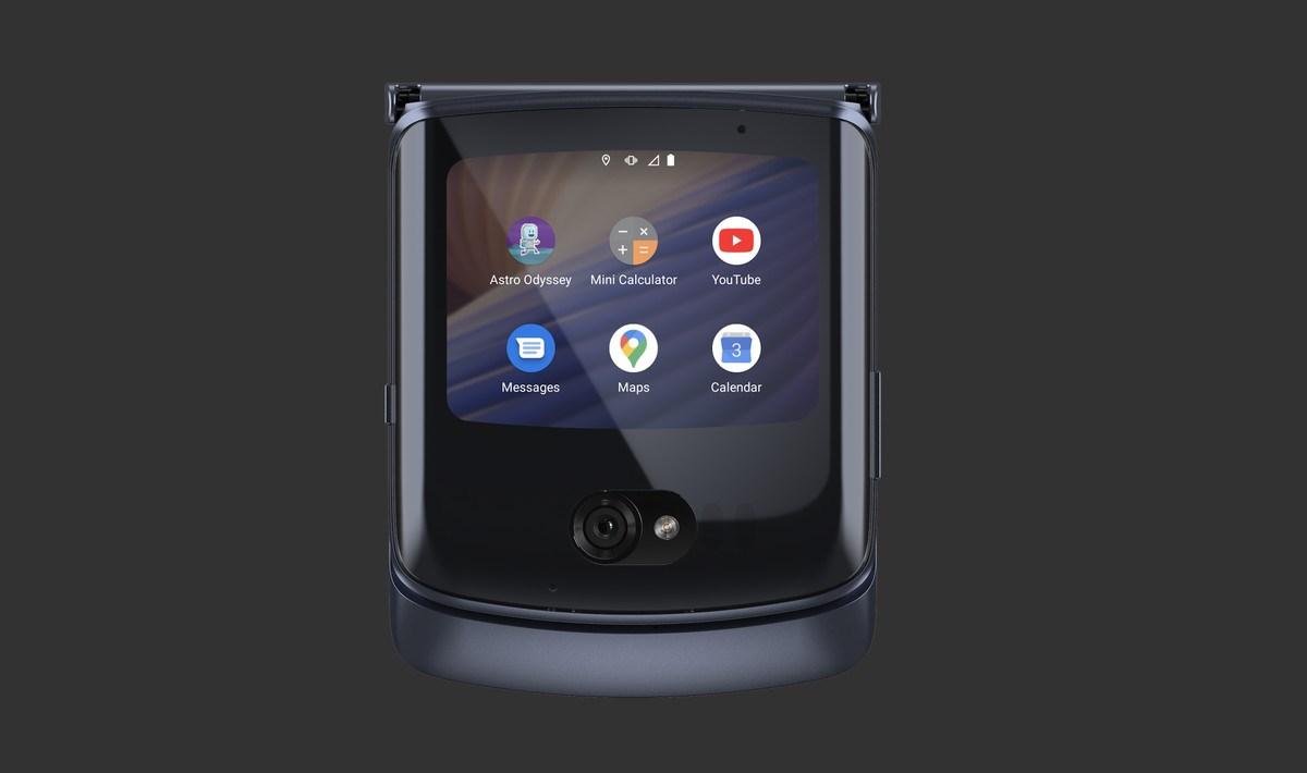 摩托罗拉手机Razr 5G翻盖式可折叠手机公布:升級配备、监控摄像头