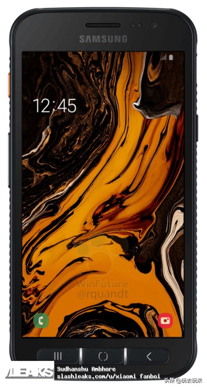 三星Galaxy XCover 4s店三防手机配备和宣图曝出