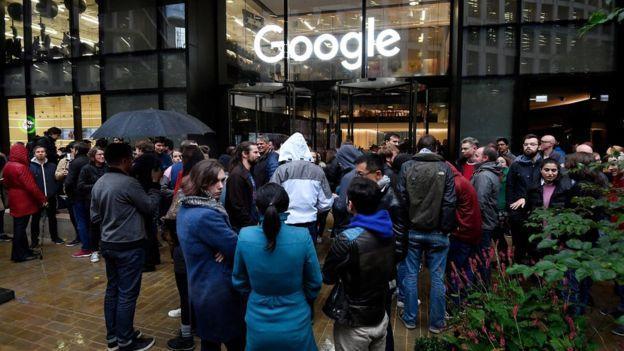忍无可忍,谷歌员工终于爆发集体抗议,发表严正声明