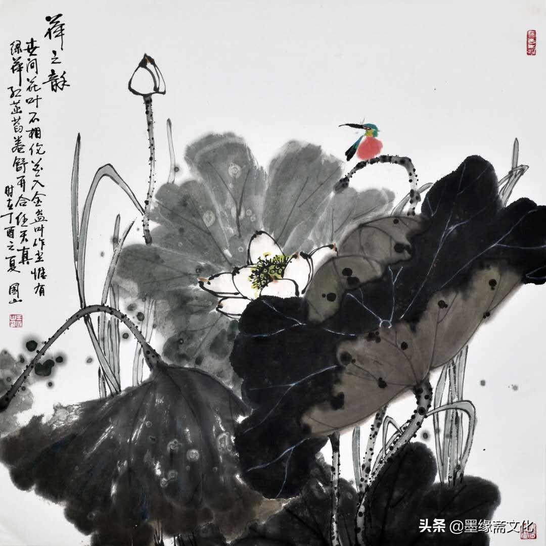 王国山国画-花鸟画系列欣赏