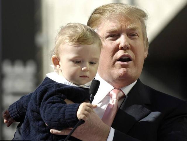特朗普的三个儿子:一个子承父志,一个借爹生财,一个少女之梦