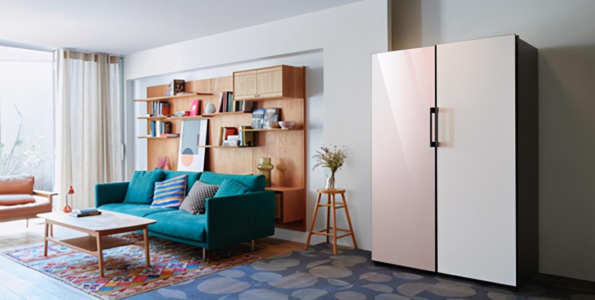 夏天清凉的必需品,三星BESPOKE灵变·炫彩系列冰箱C位出彩